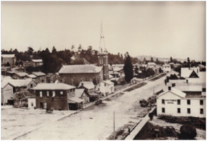 Collier St., Barrie, 1876